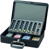 Maul Geldkassette mit Euro-Zähl- -Einsatz, 37 x 29 x 12 cm schwarz