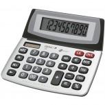 10-stelliger Business-Tischrechner mit Dual-Power (Solar und Batterie) und Jumbo-Display