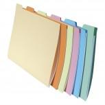 10x6er Packung Aktenmappen Hängeregistraturen aus festem Karton SUPER 210, 24x32cm für Format DIN A4