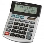 12-stelliger Tischrechner mit Dual-Power (Solar und Batterie) und Back Check Correct Funktion