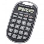8-stelliger Taschenrechner (Befestigungsöse, Batterie-Power, robustes Design)
