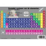 ACROPAQ A4 Affiche Educative Tableau périodique des éléments 30x21cm NL/FR