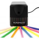 ACROPAQ S100 - Elektrische Spitzmaschine für Stiftdurchmesser bis 8mm, schwarz