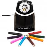 ACROPAQ S900 - Elektrischer Anspitzer mit 6 verschiedenen Öffnungen