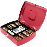 ACROPAQ TS0110R - Geldkassette 330x235x90mm Rot