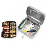 ACROPAQ TS0130S - Geldkassette 205x160x90mm Silber