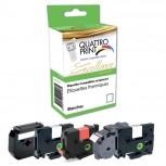 Adress-Etikettenrollen für  Dymo 99010 S0722370, weiß,  89 mm x 28mm, 2 x 130 Adress-Etiketten