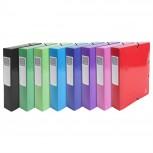 Archivbox aus Manilakarton 600g/qm, Rücken 60mm mit Etikett, 25x33cm für DIN A4 - Iderama.