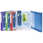 Archivbox mit Druckknopf aus PP 700µ, Rücken 40mm, 25x33cm für DIN A4 - Kreacover