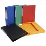 Archivboxen Scotten, Rücken 40mm mit Etikett, aus Manila Karton 600g/qm, DIN A4