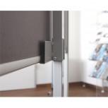 Beamerhalterung PRO, PRO Fahrgestell & Tafeln, silber