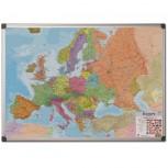 Bi-Office Europakarte - laminiert oder magnetisch