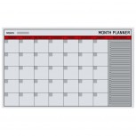 Bi-Office Glasplaner - Monatsplaner 90 x 60 cm