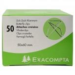 Box mit 50 Stück Zick-Zack Büroklammern, 50x60mm