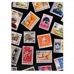 Briefmarken Einsteckalbum Sport, 16 Seiten, 16,5x22,5cm