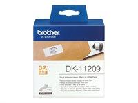 Brother Original - Adressetiketten -  DK11209