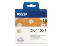 Brother Original - Etiketten 1000Stk. 23 x 23mm