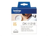 Brother Original - Etiketten 1000Stk. Rolle