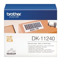 Brother Original - Etikettenrolle S/W 10,2x5,1cm