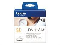 Brother Original - Etiketten 1000Stk. Rolle