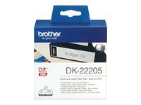 Brother Original - Etikettenrolle 6,2cm x 30,5m