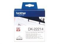 Brother Original - Etikettenrolle weiß 1,2cm x 30,