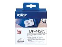 Brother Original - Etikettenrolle weiß 6,2cm x 30,
