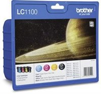 Brother Tinte Valuepack (BK+CMY) , LC1100HYPACK