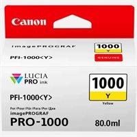 Canon Original - Tinte gelb PFI-1000Y - 0549C001AA