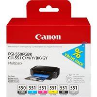 Canon Original - Tinte Multi Pack - 6er-Pack