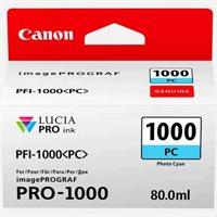 Canon Original - Tinte photo-cyan PFI-1000PC