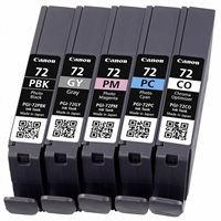 Canon Tintenset schwarz + farbig PGI-72PACK2