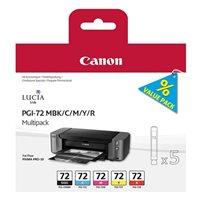 Canon Tintenset schwarz + farbig PGI-72PACK
