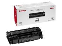 Canon Toner schwarz, Cartridge 708, 0266B002AA