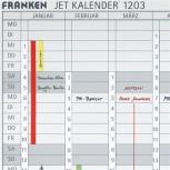 Datumstreifen f.JK1203 magn.