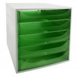 ECOBOX Schubladenbox mit 5 Laden .