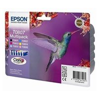 Epson Multipack 6-farbig für R265, T08074011