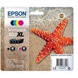 Epson Origina XL Tinte 4er Multipack bkcmy - Easy Mail 603XL - C13T03A64010