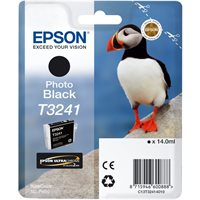 Epson Original - Tinte T3241 photo schwarz