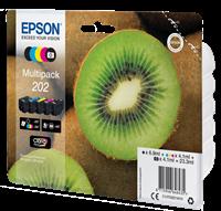 Epson Original Multipack Photo BK/BK/C/M/Y 202 Claria Premium Ink