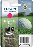 Epson Original - Tinte 34 magenta -  C13T34634010