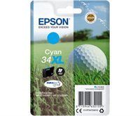 Epson Original - Tinte 34XL cyan -  C13T34724010