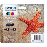 Epson Original Tinte 4er Multipack BKCMY 603 - C13T03U64010