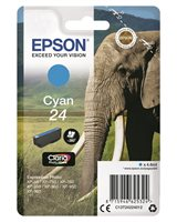 Epson Original - Tinte cyan - 24 Claria