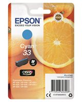 Epson Original - Tinte cyan - 33 Claria