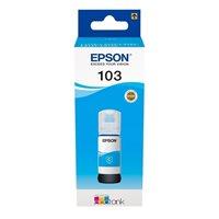 Epson Original Tinte cyan EcoTank 103 - C13T00S24A10
