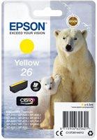 Epson Original - Tinte gelb -  C13T26144012
