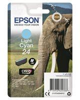 Epson Original - Tinte hell cyan - 24 Claria