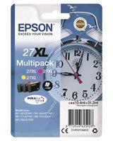 Epson Original - Tinte XL CMY - 27 DURABrite