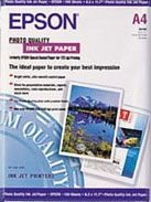 EPSON Photo Qual. InkJet Pap. A4 -SO41061